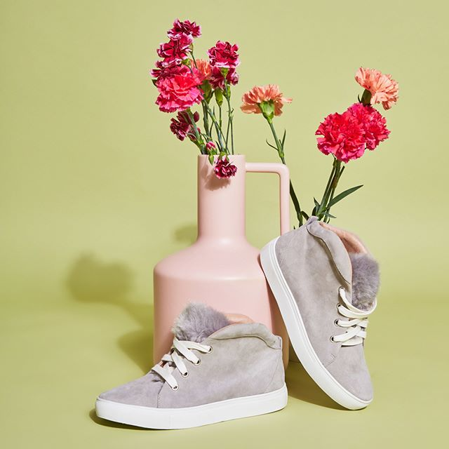 Flourish. Be you • shop the 'Booted Sneaker' in grey ; online now via @fshnbnkr #jaggarfootwear #jaggarswagger
