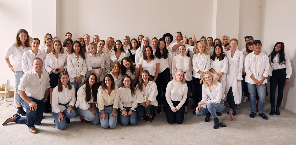 Our Head Office staff, in support of Ovarian Cancer Research White Shirt Campaign