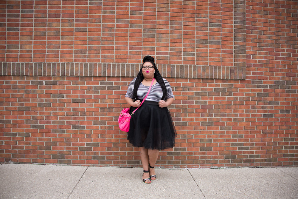 This look was featured on The Curvy Fashionista and received over 3,000 likes on #effyourbeautystandards Instagram page #winning