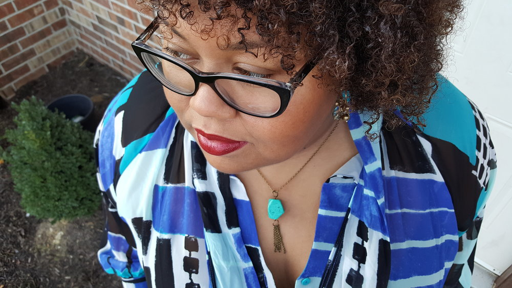 Necklace: Pearl Magnolia| Shirt: Lane Bryant