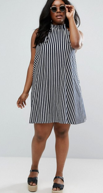 Striped Halter Dress, Asos $31