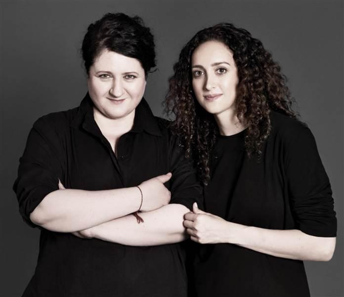 Alex Waldman (left) and Polina Veksler (c/o Universal Standard website)