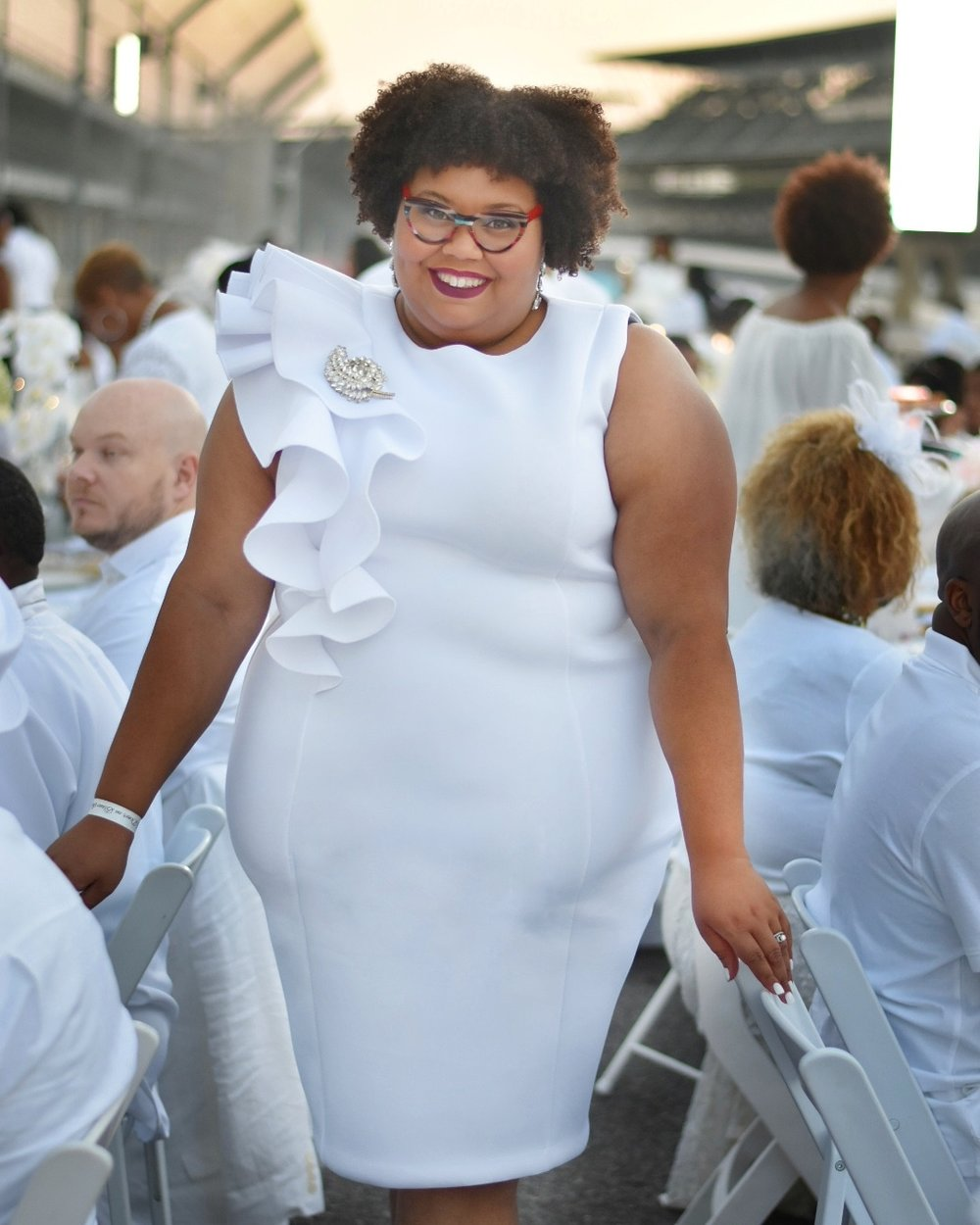 Diner en Blanc at the Indianapolis Motor Speedway