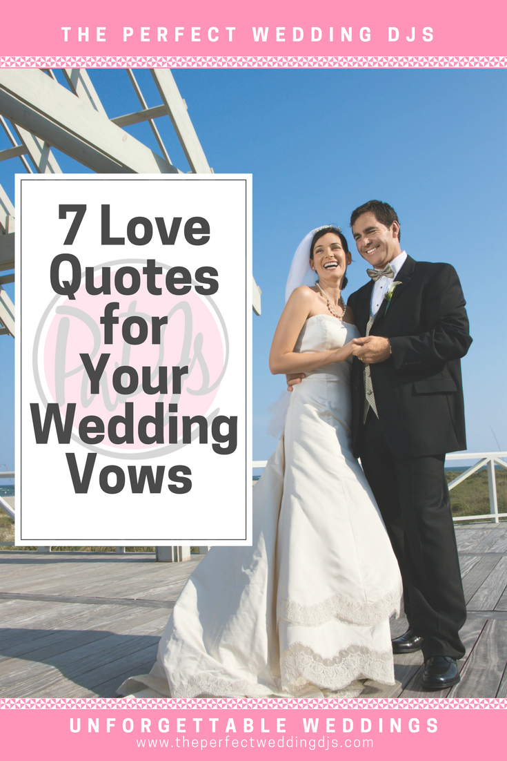Wedding Vows - Perfect Wedding DJs