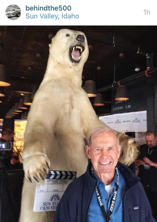 Parnelli in the Sun Valley Film Festival Green Room. Super fun times!