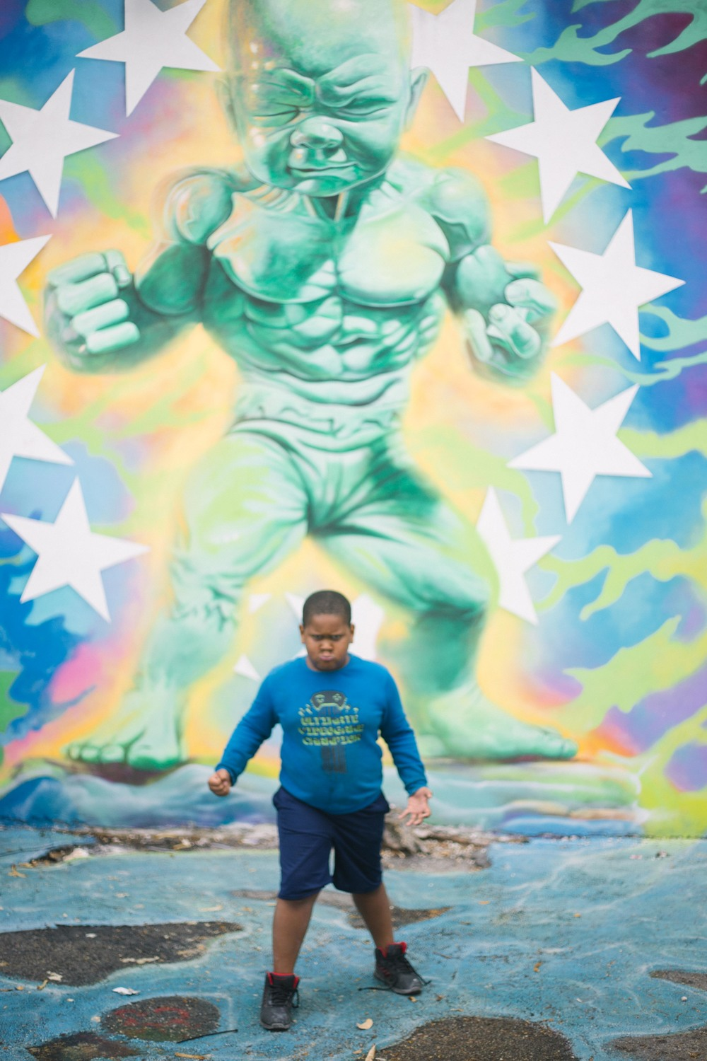 My one and only son aka The Hulk, if you ask him.
