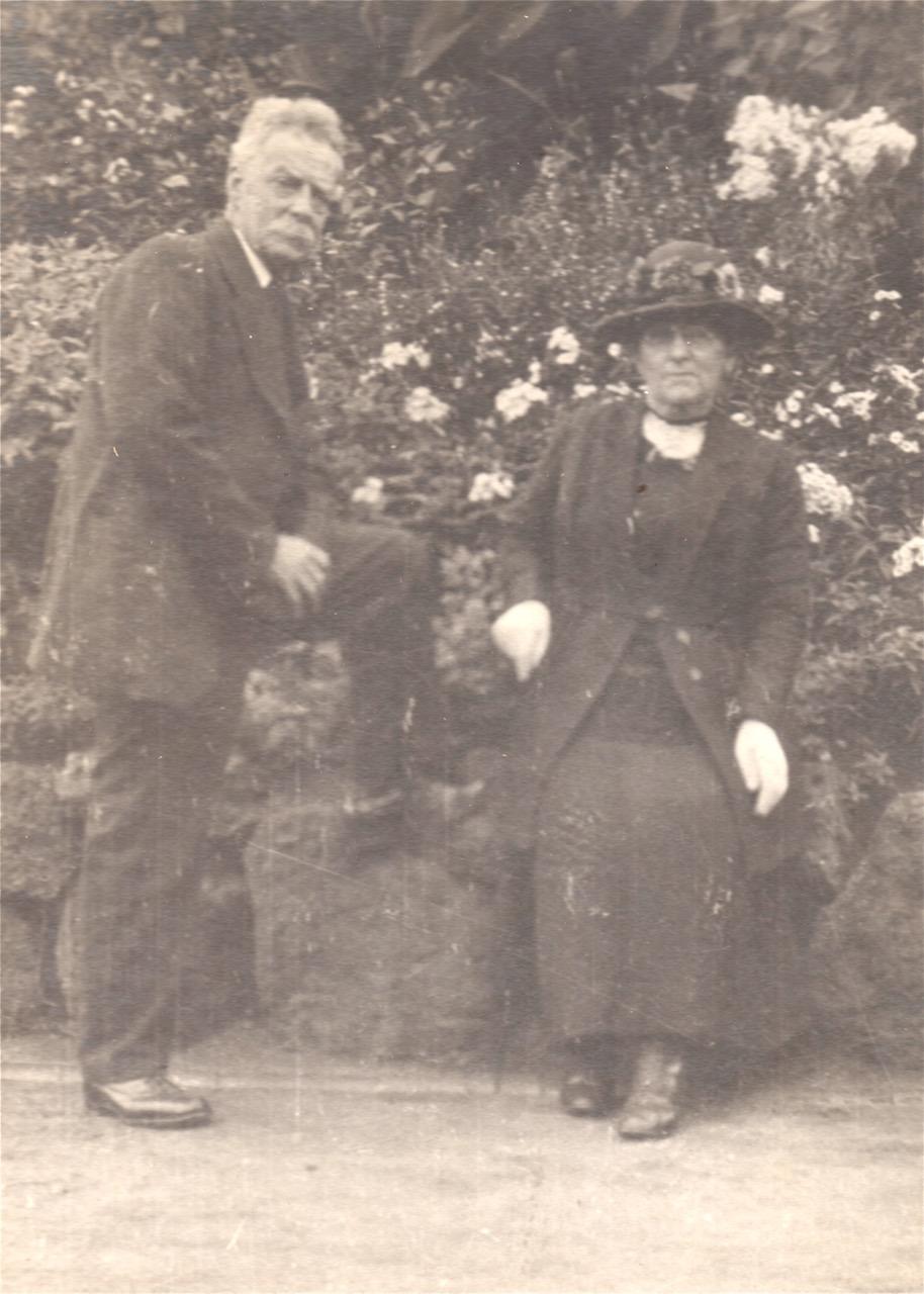 John Frederick and Frances Martin 1924