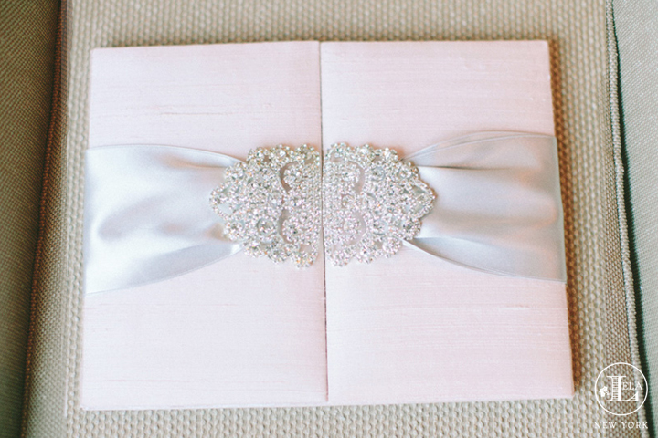 Blush Crystal Invitation | Lauren & Joseph