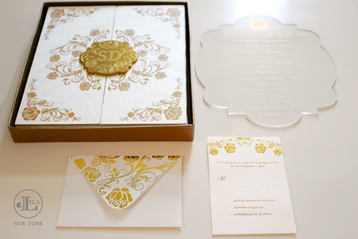 Luxury Boxed Invitation | Sigalit & Daniel