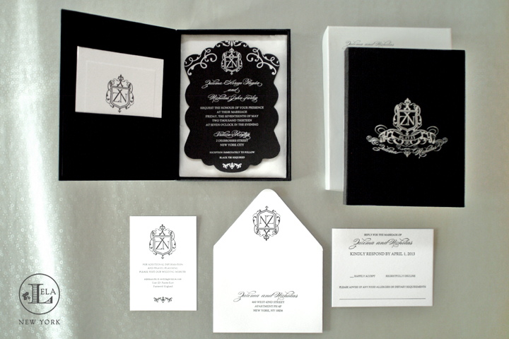 Boxed Wedding Invitations | Zulema & Nick