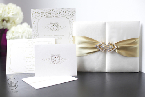 wedding invitation for the plaza alana stephen - Luxury Wedding Invitations
