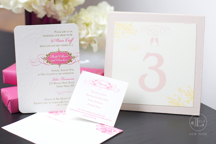 Bridal Shower Invitation & Day of Stationery