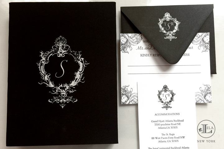 Luxury Box Invitation | Tanya & Richard