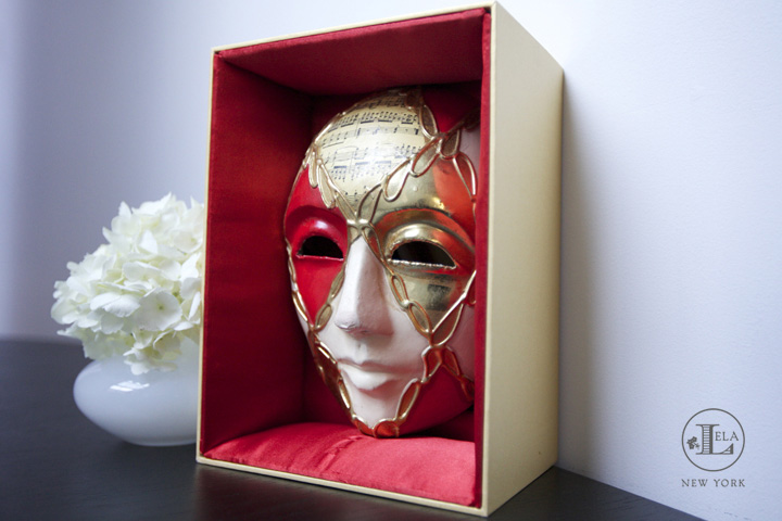 Masquerade Box Invitation