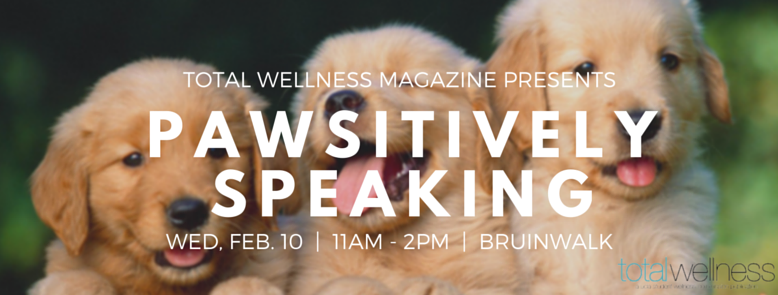 Check out our Facebook event for Pawsitively Speaking!