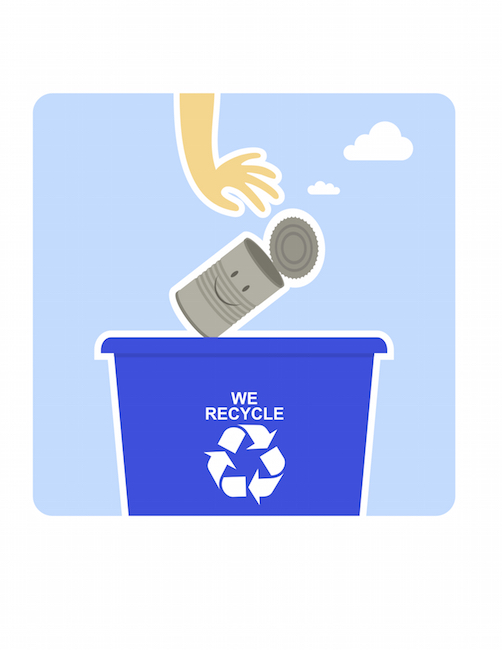 Cans can be recycled. ©iStock Images