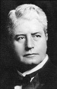 Edmund Barton, who became Australia's 1st Prime Minister.