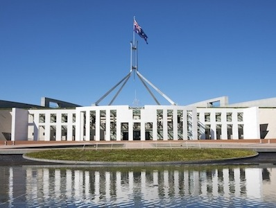 Parliament House, Canberra ©Getty Images
