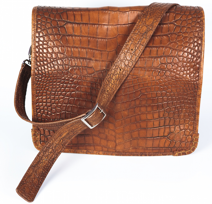 Crocodile leather product. ©iStock
