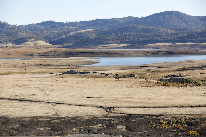 Lakes and dams dry up during drought. Getty Images