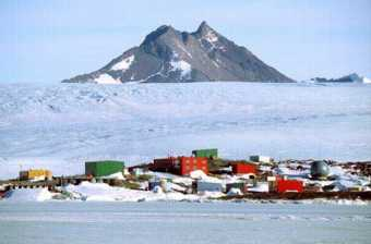 The Australian Antarctic Mawson Base, named in honour of Douglas Mawson. ©Getty Images