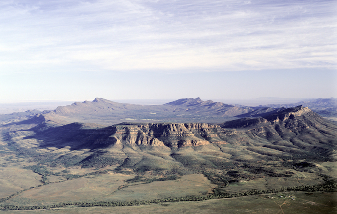 Wilpena Pound in South Australia ©