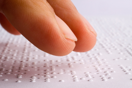 Blind people can read thanks to Louis Braille ©Getty Images