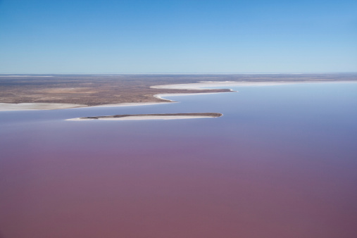 Stuart explored Lake Eyre © Getty Images