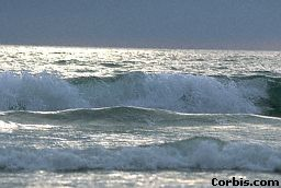 The energy of ocean water can be used to make electrical energy.