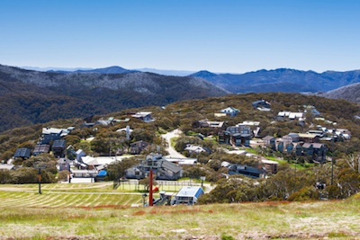 A small town in snow country, Australia©Getty Images