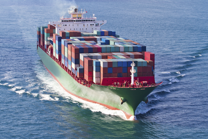 Container ships carry cargo. Getty Images