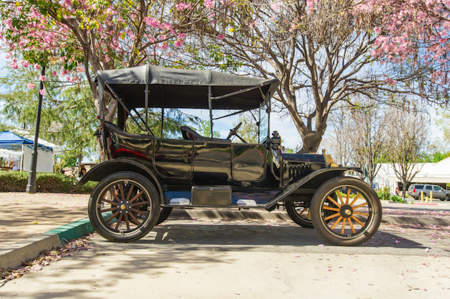 A 1915 Model T by Henry Ford © iStock