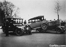 As the number of road accidents increased, road rules had to be introduced.