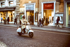 Motor scooter ©iStock