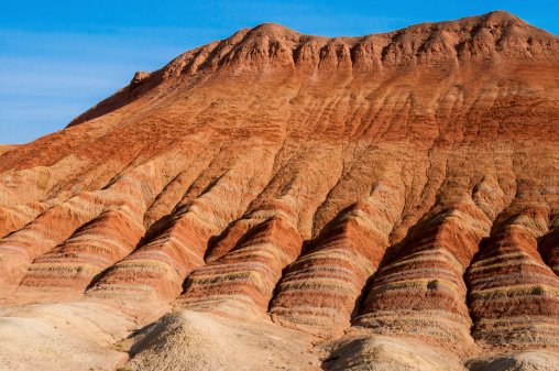 You can see the layers in this sedimentary rock. Getty Images