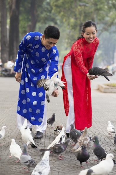 Vietnamese ao dai . Photo©Getty Images