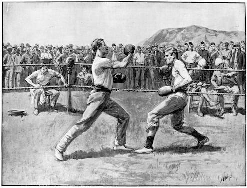 Boxing matches have always attracted many spectators. © Getty images
