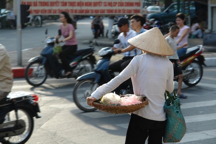 A Hanoi street. Getty Images