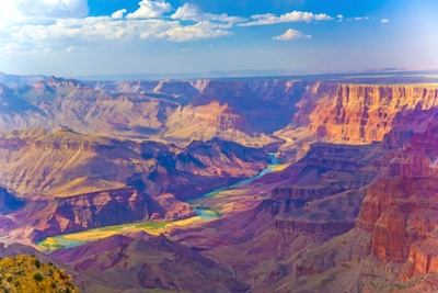 Part of the Grand Canyon ©Getty Images