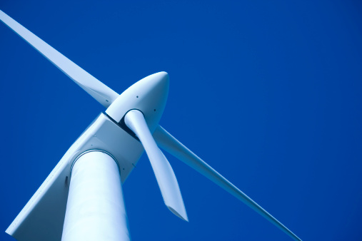 Wind turbines are pollution free © Getty Images