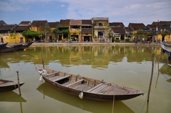 The old port of Hoi An along the Thu Bon river. Photo©iStock