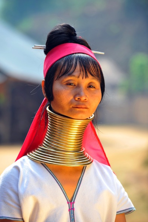 A Paduang woman. Photos.com