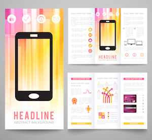 Layout A Using a couple of pamphlets and a headline section.