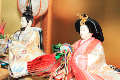 Emperor and Empress dolls