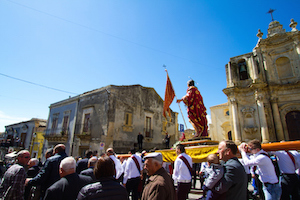 An Easter Sunday procession in a village in Sicily. ©iStock