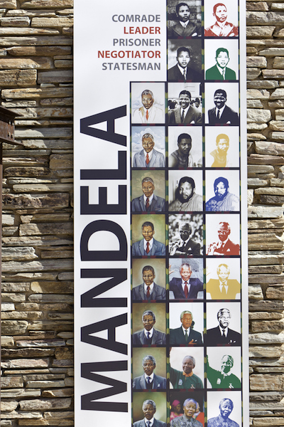 A commemoration of Mandela's many years of working for human rights, from a young man to the age of 95.