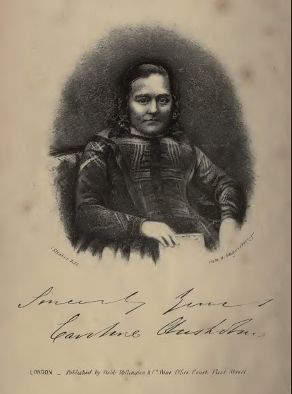 Image from the book 'Memoirs of Mrs Caroline Chisholm. Book is part of Project Gutenberg a public domain publication.