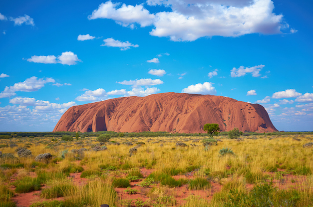 Uluru is a UNESCO World Heritage Site. It is a sacred place to the local Anangu people.© iStock