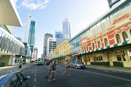 Perth's buildings are a blend of the old and the new ©iStock