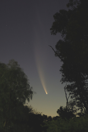 Comets are invisible until the come close to the sun.© iStock